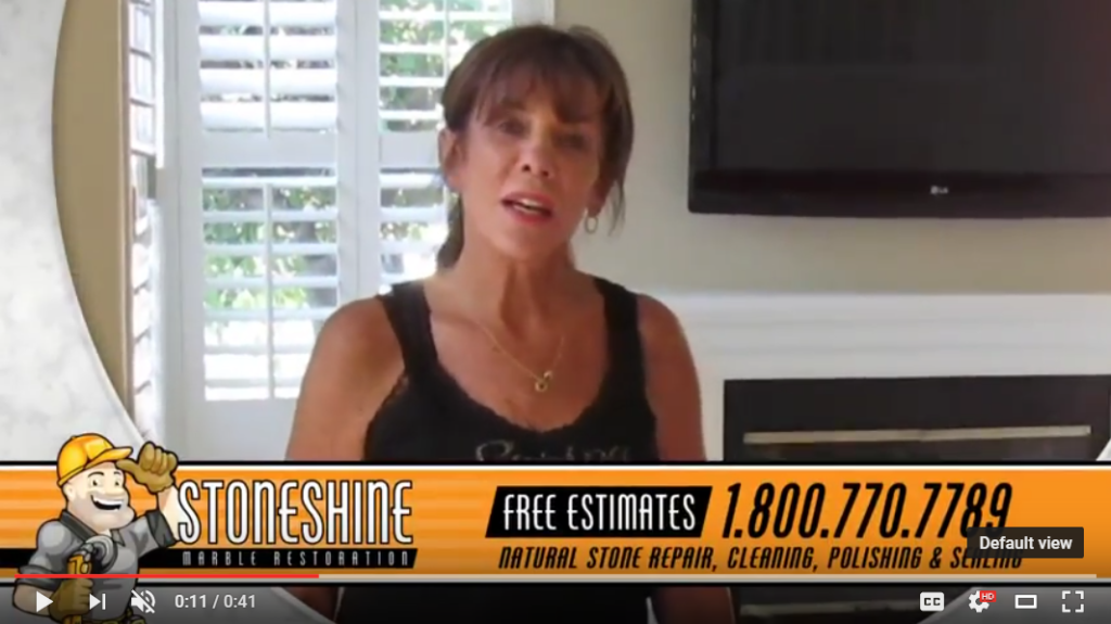 video review of marble floor restoration