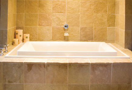 how to clean granite tiles in your shower
